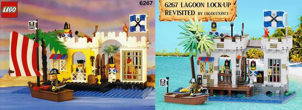 6267 Lagoon Lock-Up - Old & New Comparison