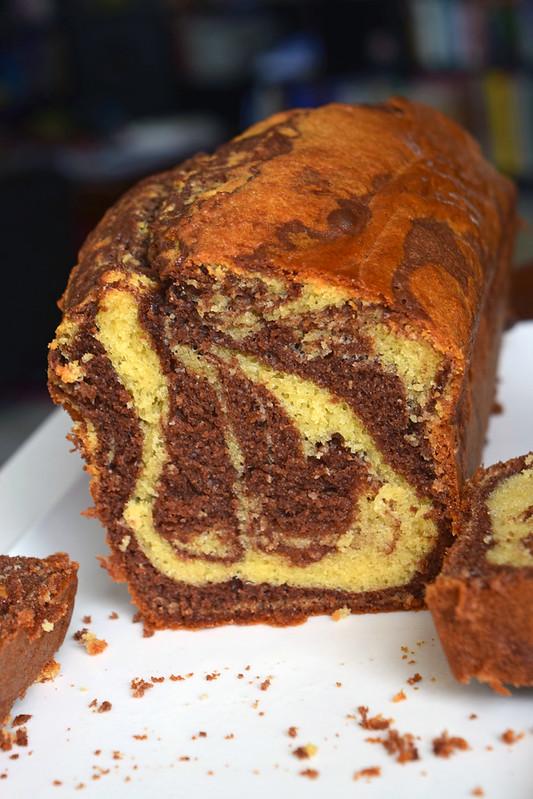 cake marbré au chocolat6