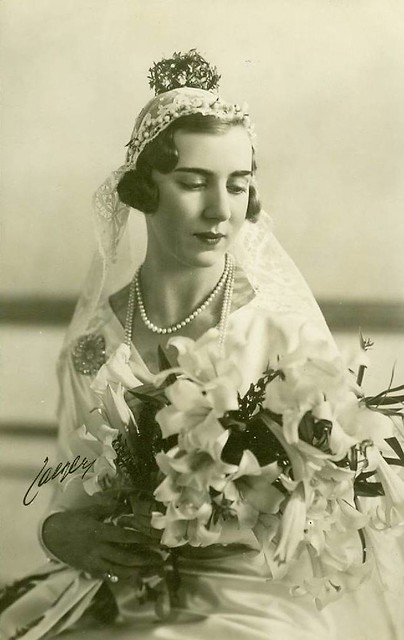Princess Ingrid of Sweden as bride