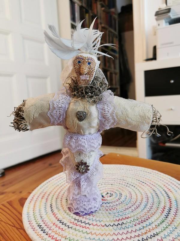 Erzulie Freda Ritualized Vodou Doll