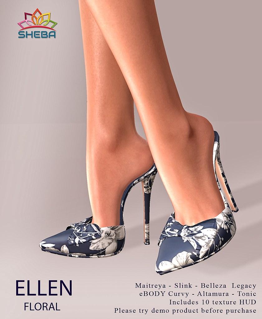[Sheba] Ellen Mules *Floral @FBF