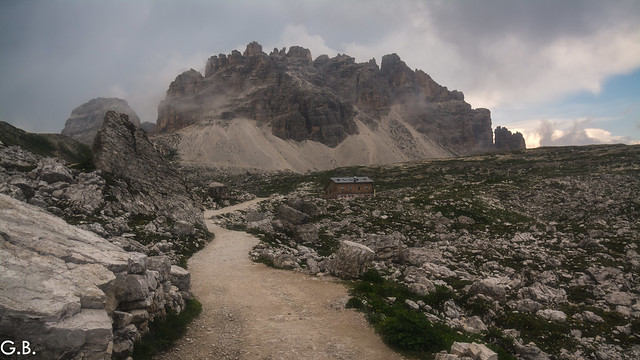 Old pic of Tre cime