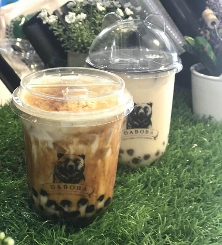 Da Boba (黑熊堂) milk tea