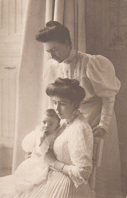 Queen Victoria and Crown Princess Margareta of Sweden