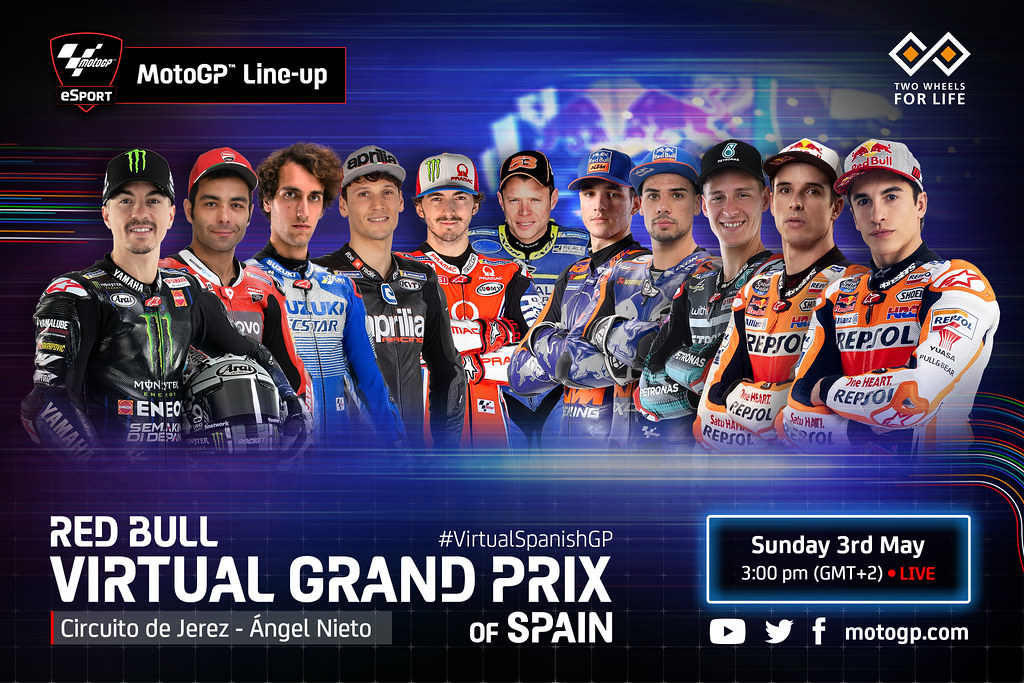 MotoGP Virtual Race Line Up