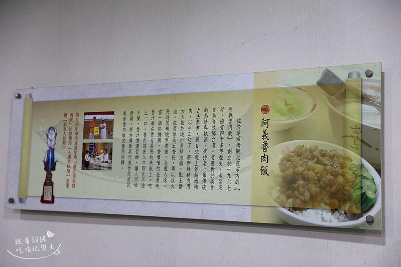 阿義魯肉飯蚵仔魯肉蓋飯萬華艋舺小吃87