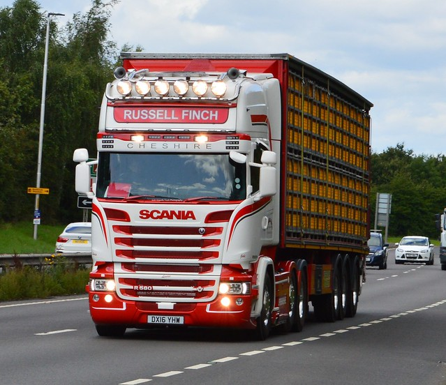 Russell Finch DX16 YHW On the A5 At Shrewsbury