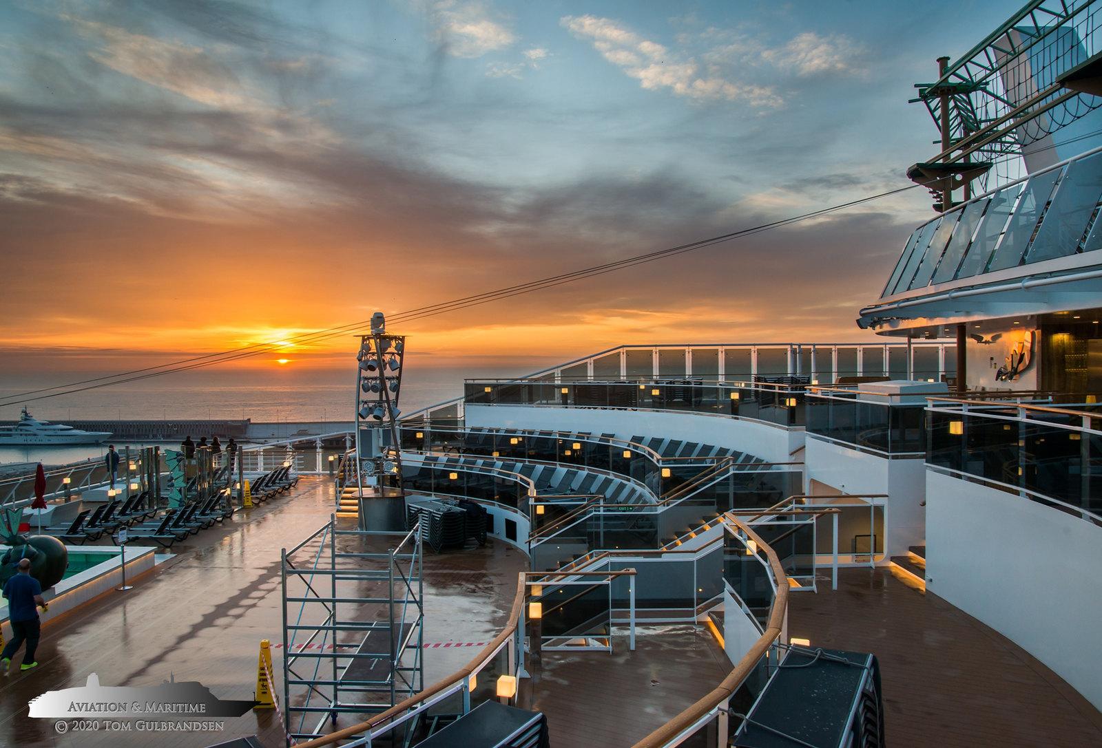 MSC Cruises, Bygg nr. G34 & H34 ved Chantiers de l ...