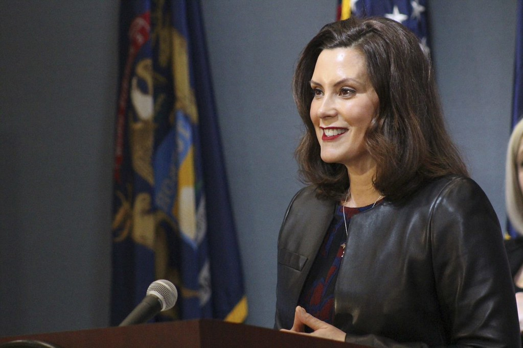 Governor Whitmer Holds Press Conference on Michigan COVID-19 response