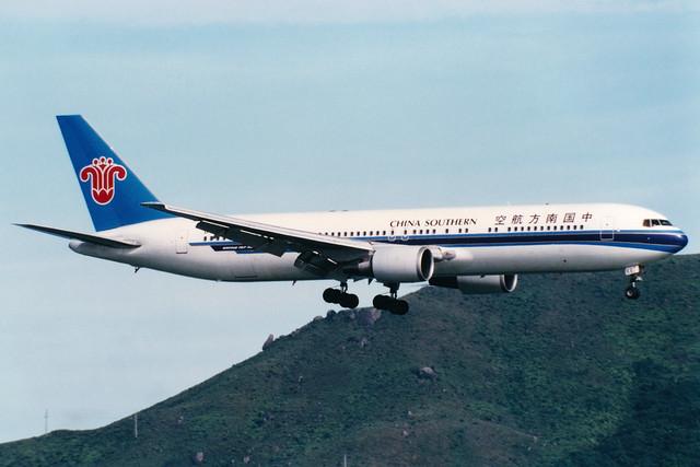 China Southern Airlines | Boeing 767-300ER | B-2566 | Hong Kong International