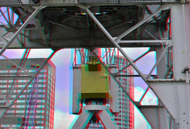 Kraan Leuvehaven Rotterdam 3D