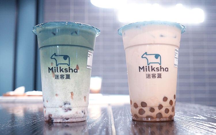 Milksha bubble tea