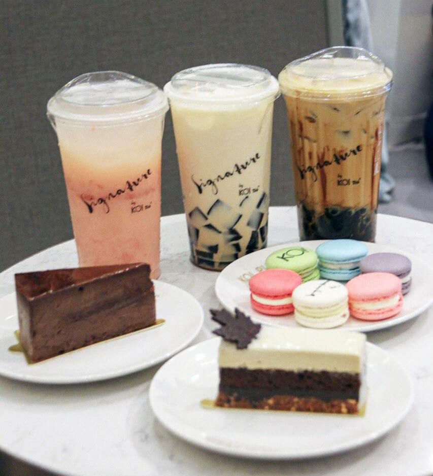 Koi Bubble Tea in Singapore