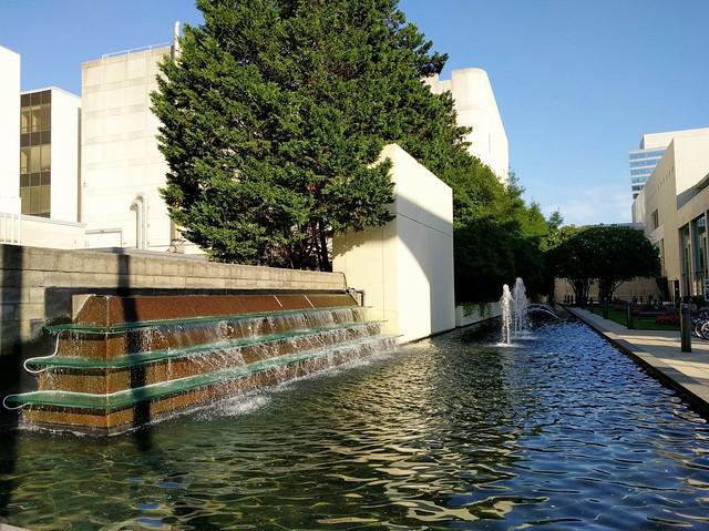 Charlotte Convention Center Fountain