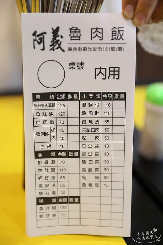 阿義魯肉飯蚵仔魯肉蓋飯萬華艋舺小吃10