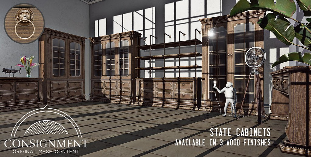 State Cabinet Set – Out now @ FaMESHed