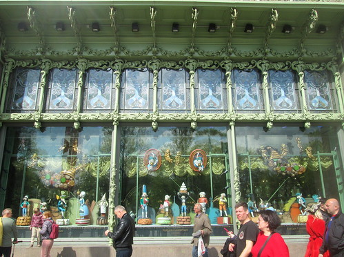 Windows, Eliseyev Grocery, Nevsky Prospekt, St Petersburg