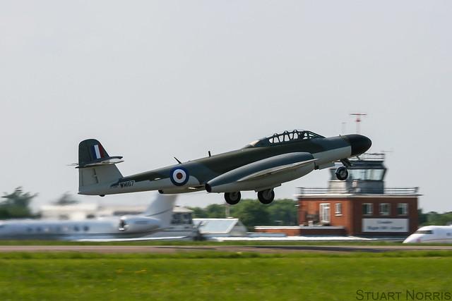 Meteor NF.11 WM167 G-LOSM - Aviation Heritage Ltd