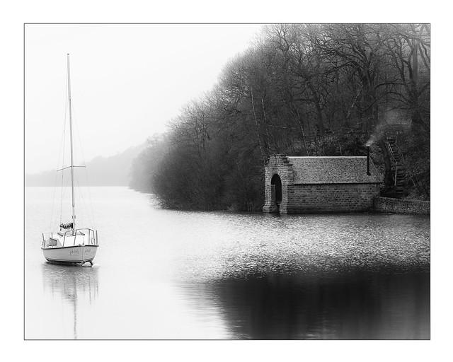 The Old Boathouse Rudyard Lake 6417