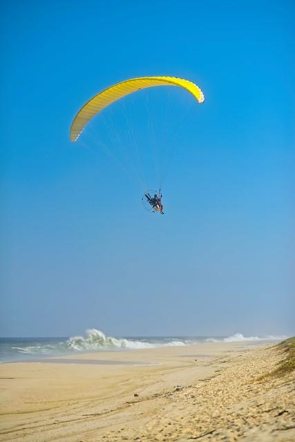Paraglider com motor