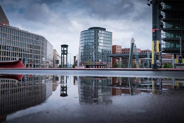 Berlin: Ebertstraße / Potsdamer Platz