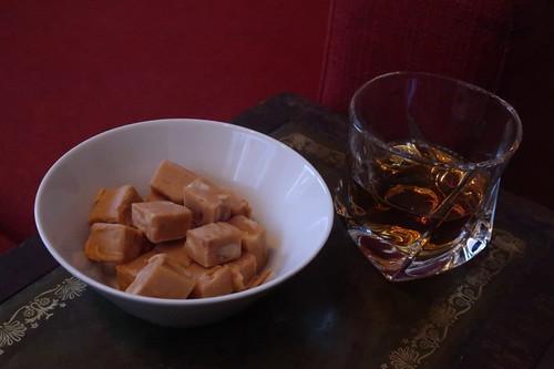 Peanut Fudge und Jack Daniel's Whiskey