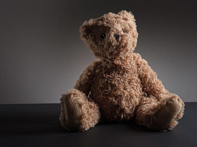 Maisie's favourite teddy