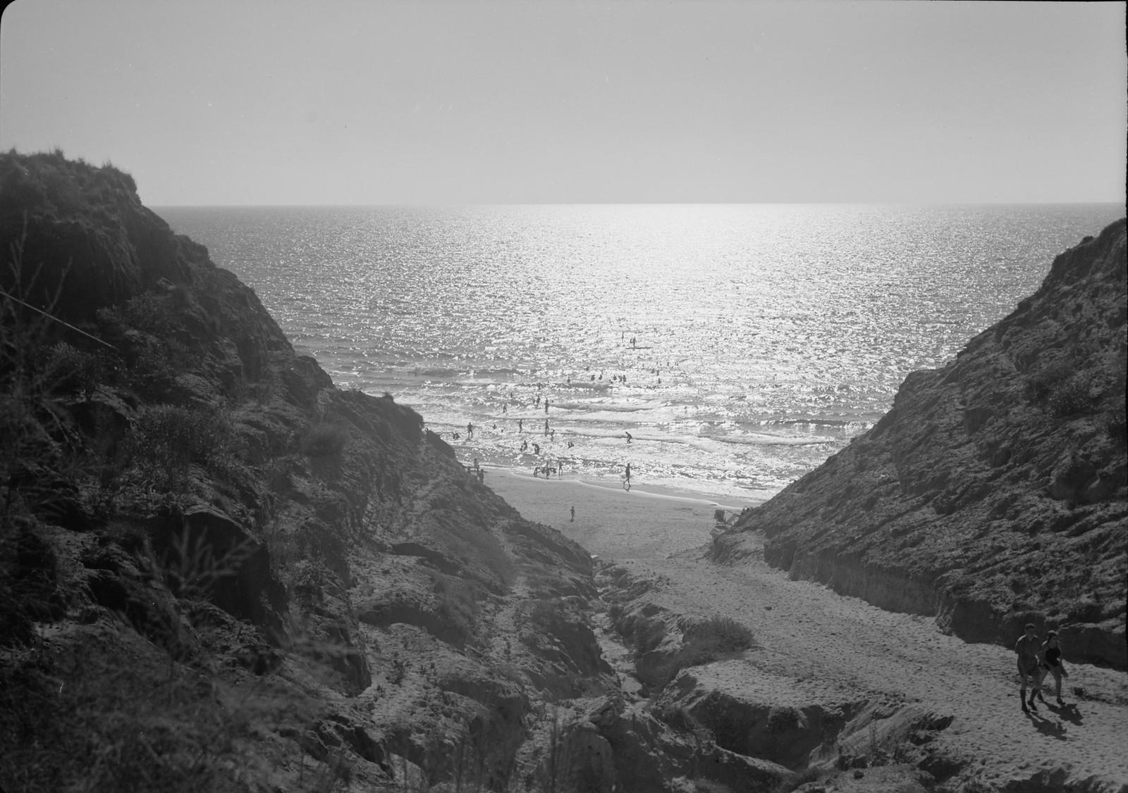 Нетания. Вид на городской пляж