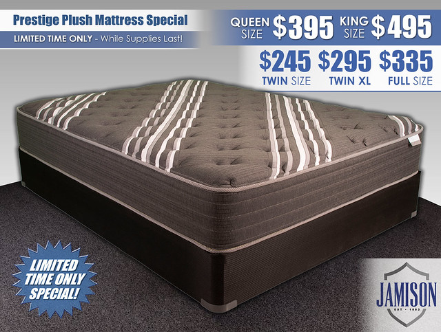 Prestige Plush Mattress Special_Updated Pricing