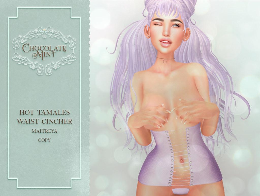 c.M Hot Tamales Waist Cincher