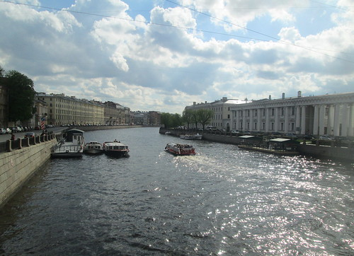 St Petersburg, Fontanka River