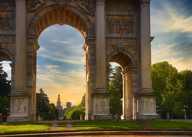 Arco della Pace (Explored May 2 2020).