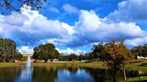 Lake & Clouds