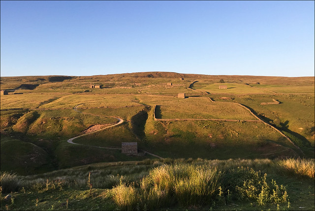 Drive Up to Tan Hill Inn from Swaledale