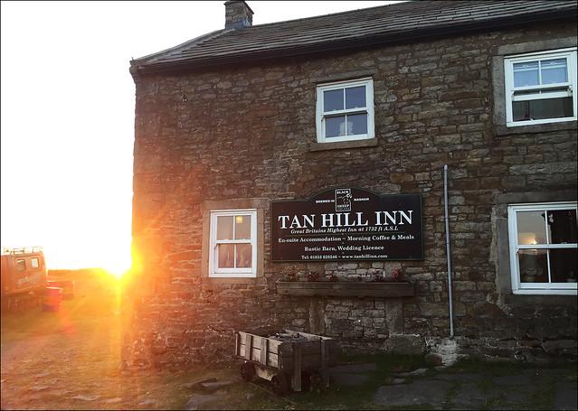 Tan Hill Inn Sunset