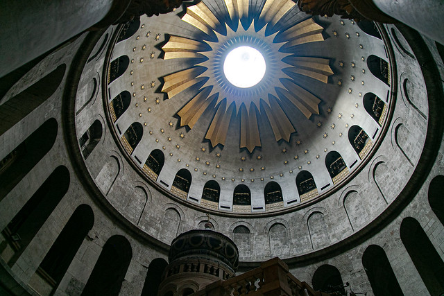 Dome of the Church of the Holy Sepulcher