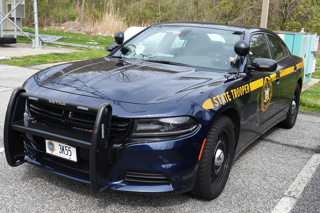 Picture Of New York State Trooper Car (3K55) - 2019  Dodge Charger. This Car 3K55 From Troop K Barracks In Cortlandt New York. This Picture Was Taken In Cortlandt New York. Photo Taken Saturday May 2, 2020