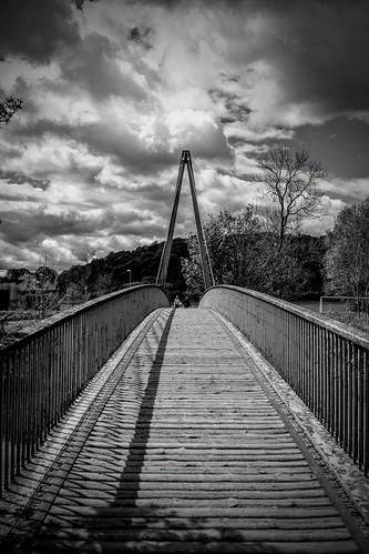 Maiden Castle Footbridge