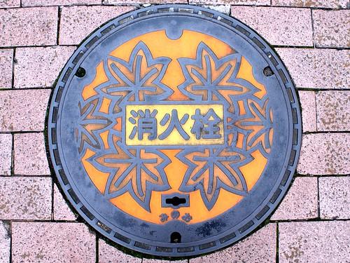 Mino Osaka, manhole cover 3 (大阪府箕面市のマンホール3)