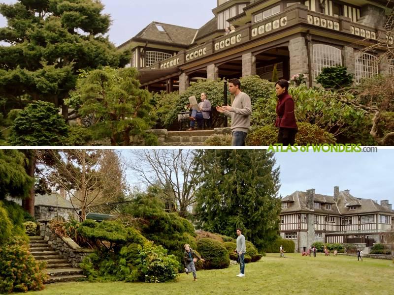 La mansion con jardin locaciones