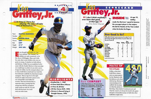 1994 Ken Griffey Jr baseball 02