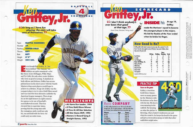 1995 Ken Griffey Jr baseball 02a
