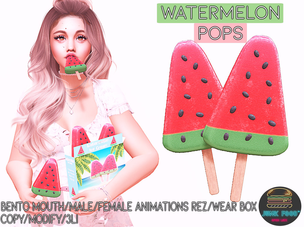 Junk Food – Watermelon Pops Ad