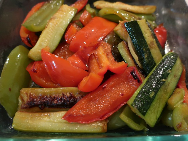 Daily Colours - Side Dish to Sauteed Salmon