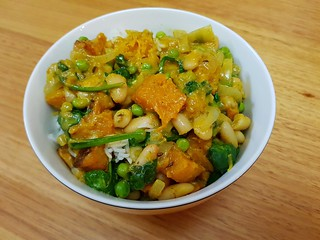 Pumpkin and White Bean Curry