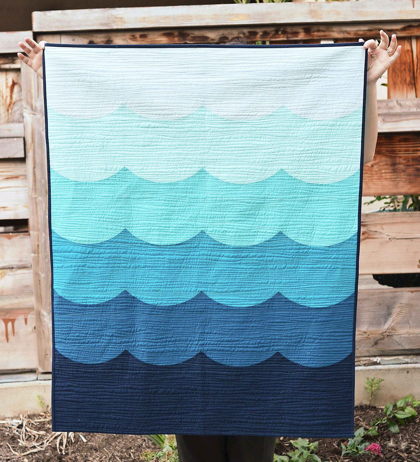 Deep Blue Sea Quilt Tutorial - Kitchen Table Quilting