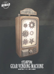 NOMAD - Steampunk Gear Vending Machine