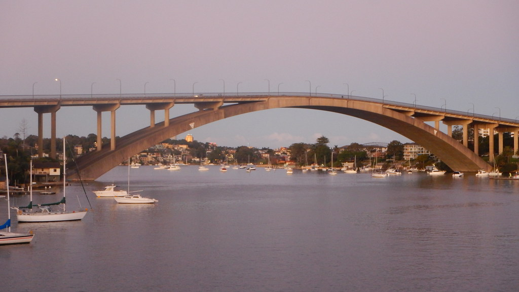 Gladesville Bridge from Huntleys Point (c) Rodrick Eime