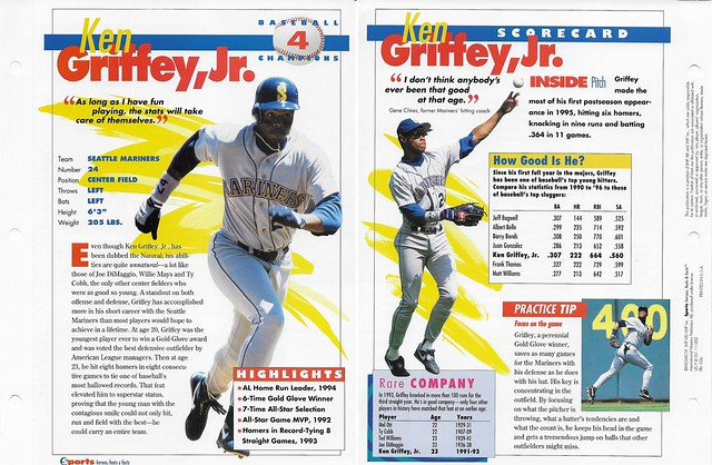 1996 Ken Griffey Jr baseball 02e