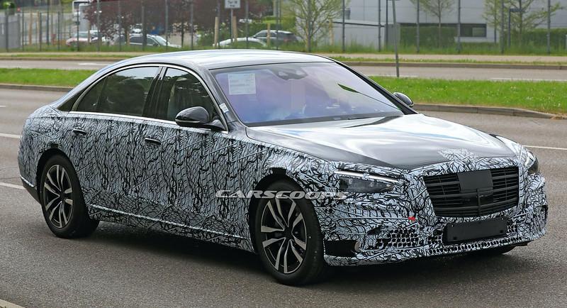 2021-Mercedes-Benz-S-Class-spy-shots-8